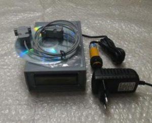 Counter Digital Portable terkoneksi PC + Sensor InfraRed