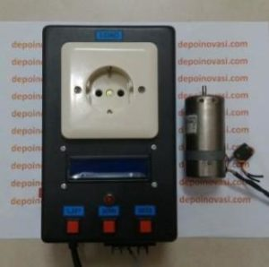 Driver Motor AC 220V 1 Phasa 500W PID Arduino Tacho
