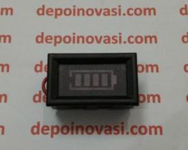 Indikator Digital Kapasitas Aki DC 12V