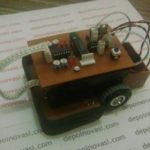 Robot Line Tracer Mikrokontroler ATTiny2313