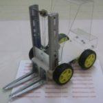 Mekanika Robot Forklift Transporter