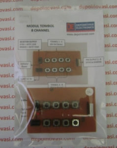 Modul Tombol 8 Channel