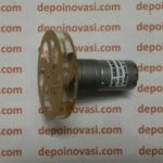 Motor DC Geared 12V 400 RPM komplit Velg Akrilik