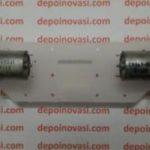 Motor DC Line Tracer Ultra Fast 4642 rpm Komplit Roda