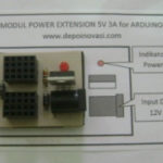 Modul Power Extension 5V / 3A for Arduino