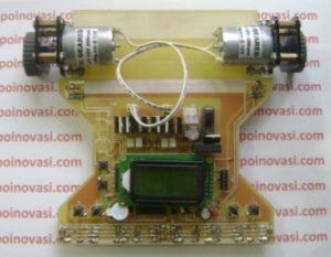 Robot Line Tracer Mikrokontroler Expert Spesial Lomba