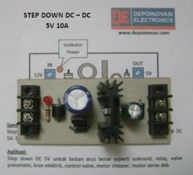 Step-Down DC – DC 5V 10A