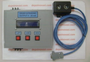 Sensor Ultrasonic Output 4 – 20 mA for PLC