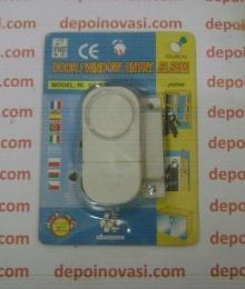 Alarm Pintu dan Jendela Sensor Magnet