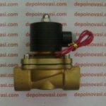 Kran Elektrik Straight Metal 1″ DC 12V