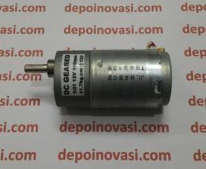 Motor DC Geared 12V 195 rpm