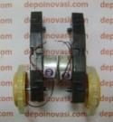 Motor DC 6V + Gearbox + Roda
