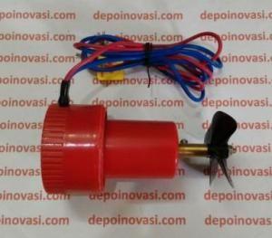 Motor DC ROV Waterproof komplit Propeller