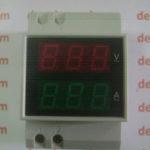 Volt Meter dan Ampere Meter AC Digital