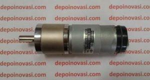 Motor DC PG45 500 RPM 25 kgfcm Encoder 2ch 7 PPR