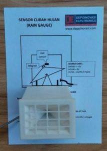 Sensor Curah Hujan (Rain Gauge) Support Arduino