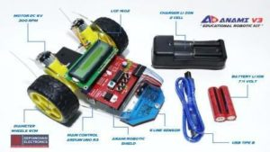 Robot Line Follower Educational Robotic Kit Anami V3 Lite