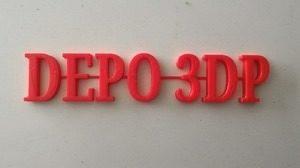 Jasa Cetak 3D Print bahan PLA