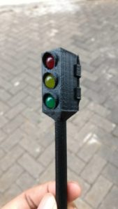 Miniatur Traffic Light Led 10mm Support Arduino