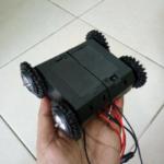 Motor dan Roda 4WD for Mobile Robotics