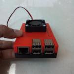 Casing Raspberry Pi 3 Include Fan 40mm