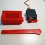 Miniatur Palang Parkir Support Arduino