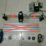 CNC Router DEPO 3DPXCNC area kerja 60×40 cm tanpa Frame