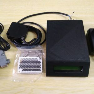 Counter Digital Portable terkoneksi PC + Sensor Range 3m + Database
