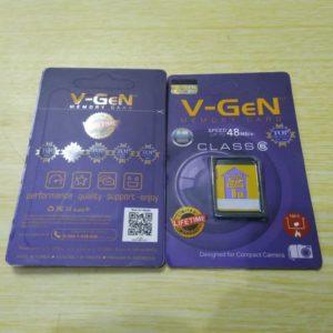 SDcard V-GeN 8GB for 3D Printer