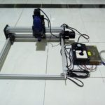 CNC Router PCB area kerja 30×30 cm Tuner 130W