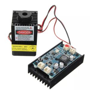 Laser Eleksmaker 3500mW 450nm Blue Laser Modul dan Laser Driver