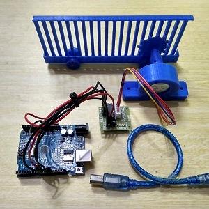 Miniatur Pagar Geser Komplit Arduino