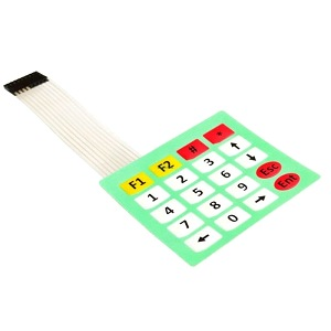 Keypad 4×5 Matrix 20 Key Membrane Switch Panel Keyboard