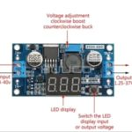 LM2596 Stepdown DC To DC Display Voltmeter