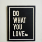 Hiasan Dinding Wall Decor CNC Do What You Love