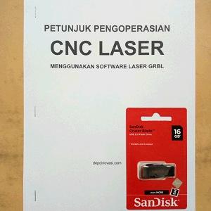 Buku dan Software CNC Laser berbasis Arduino GRBL