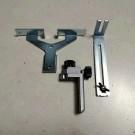 Paket Plat Siku Tebal Trimmer dan Trimmer Guide Mesin Profil Kayu