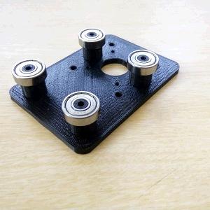 X Gantry CNC for Aluminium Profil 2040 T Slot