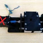 Z Axis dan X Axis CNC Tanpa Stepper for 2040 T slot
