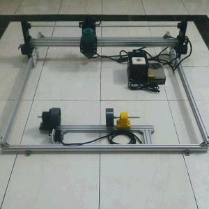 CNC Router 4 Axis 100x80cm 530W