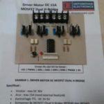 Driver Motor DC 15A MOSFET Dual H-Bridge Arduino