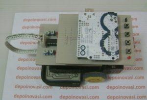 Arduino Line Follower Shield Komplit Mekanika