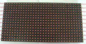 Blok LED Matrix Merah P10 Outdoor 16cm x 32cm