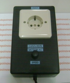 Driver Motor AC 220V 1 Phasa 500W Komplit Stopkontak