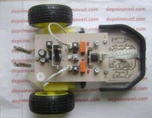 Robot Line Follower Analog 10 Sensor Modifikasi