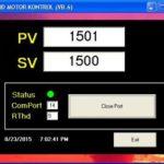 Perangkat Praktikum PID Motor Kontroller dan Datalogger