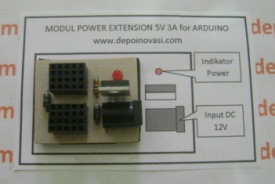 Modul Power Extension 5V / 3A for Arduino