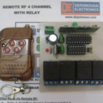 Remote RF 4 Ch (Tx + Rx) With Relay