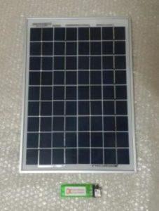 Solar Panel Polykristalin 10WP 12V