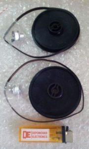 Gearset dan Pinion + Belt Pan-Tilt Kamera